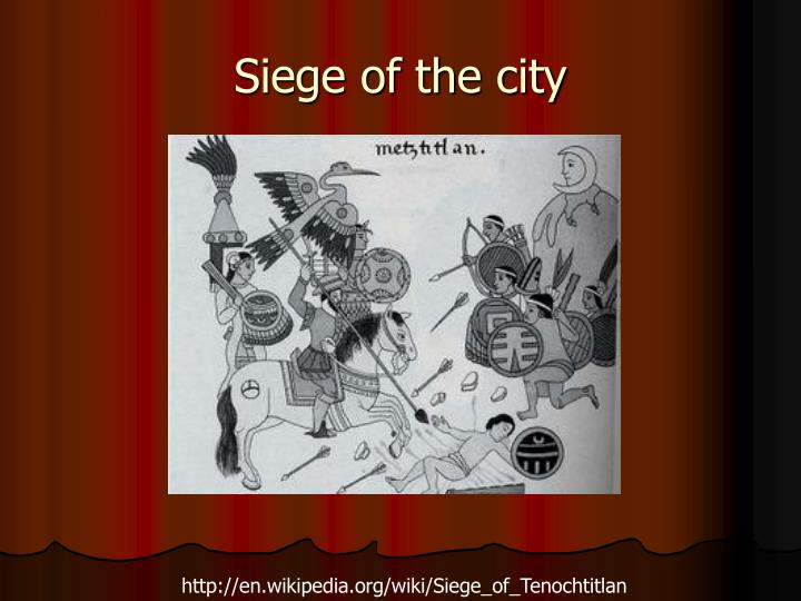 Siege of the city