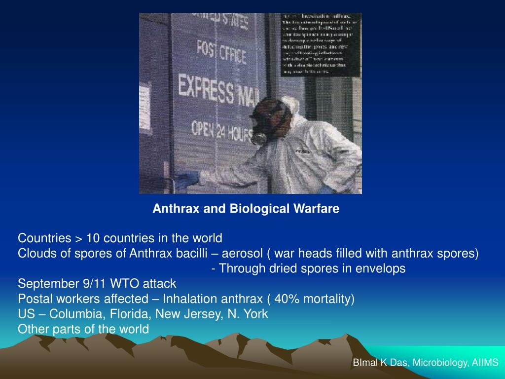 Anthrax and Biological Warfare