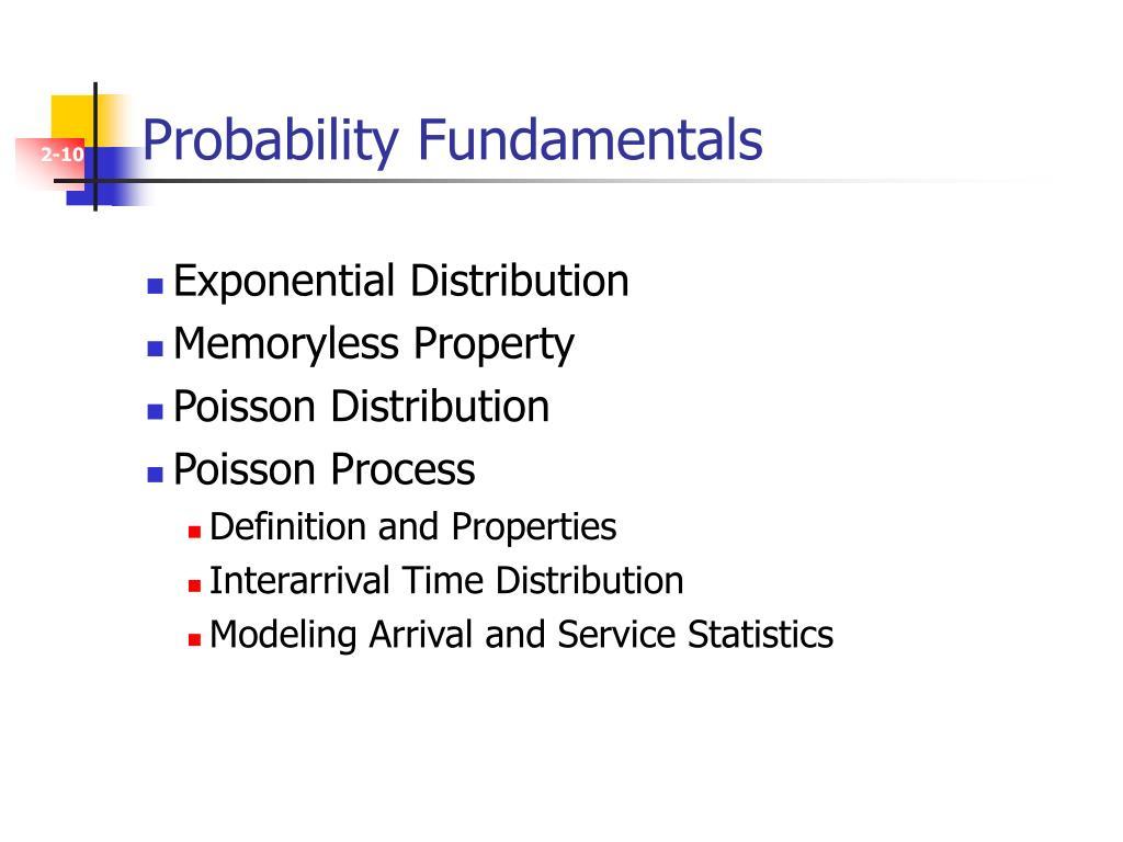 Probability Fundamentals