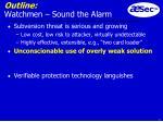 outline watchmen sound the alarm15