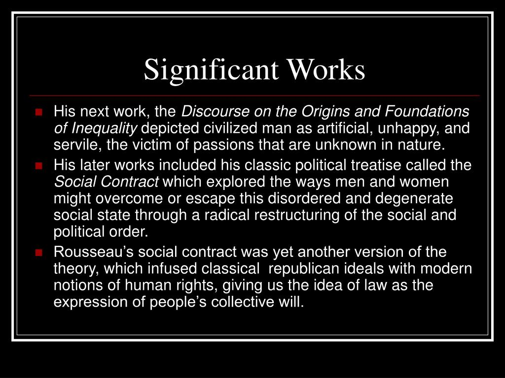 how the social contract works The social contract theories of thomas hobbes and john locke introduction thomas hobbes (1588 1679) and john locke (1632 1704) developed their political theories at a time of religious, political and social upheaval in england.