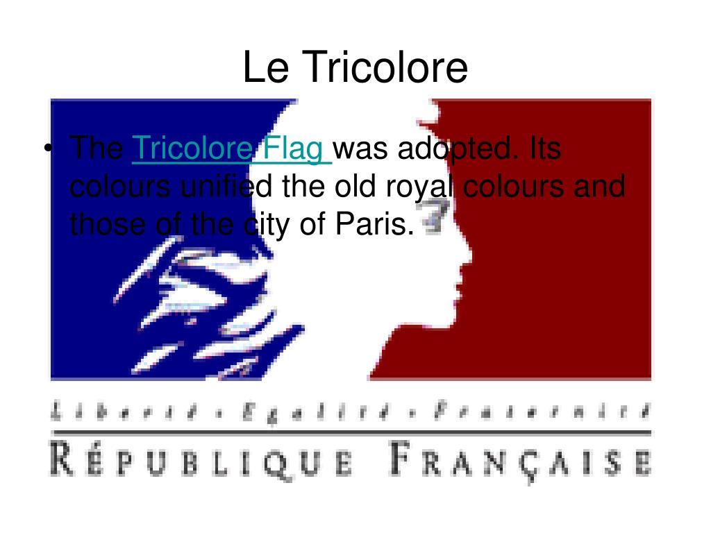 Le Tricolore