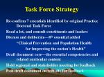 task force strategy