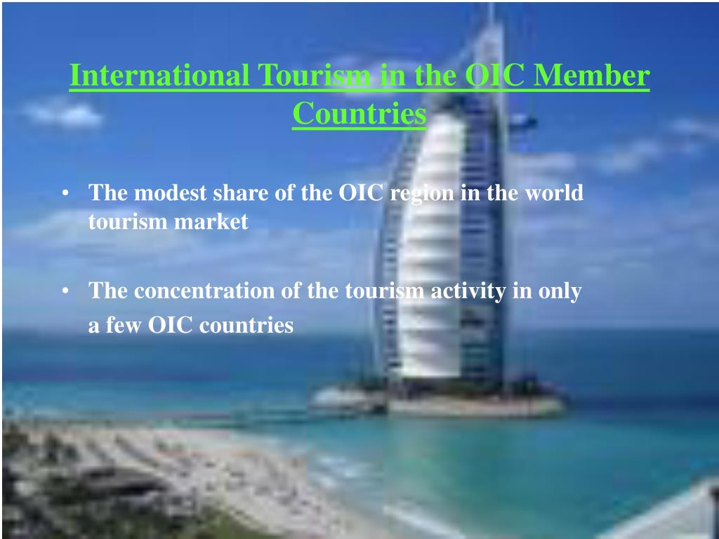 International Tourism in the OIC Member Countries
