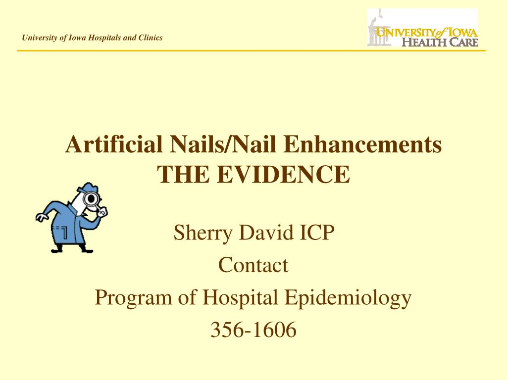 artificial nails nail enhancements the evidence
