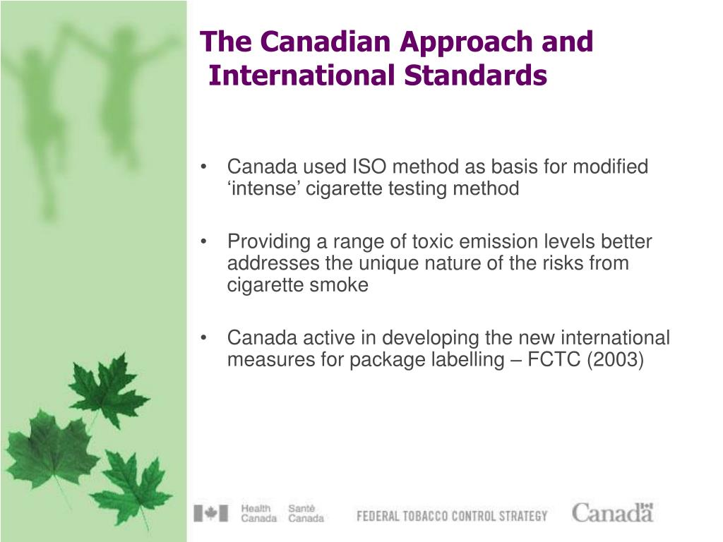The Canadian Approach and