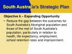 south austral ia s strategic plan7