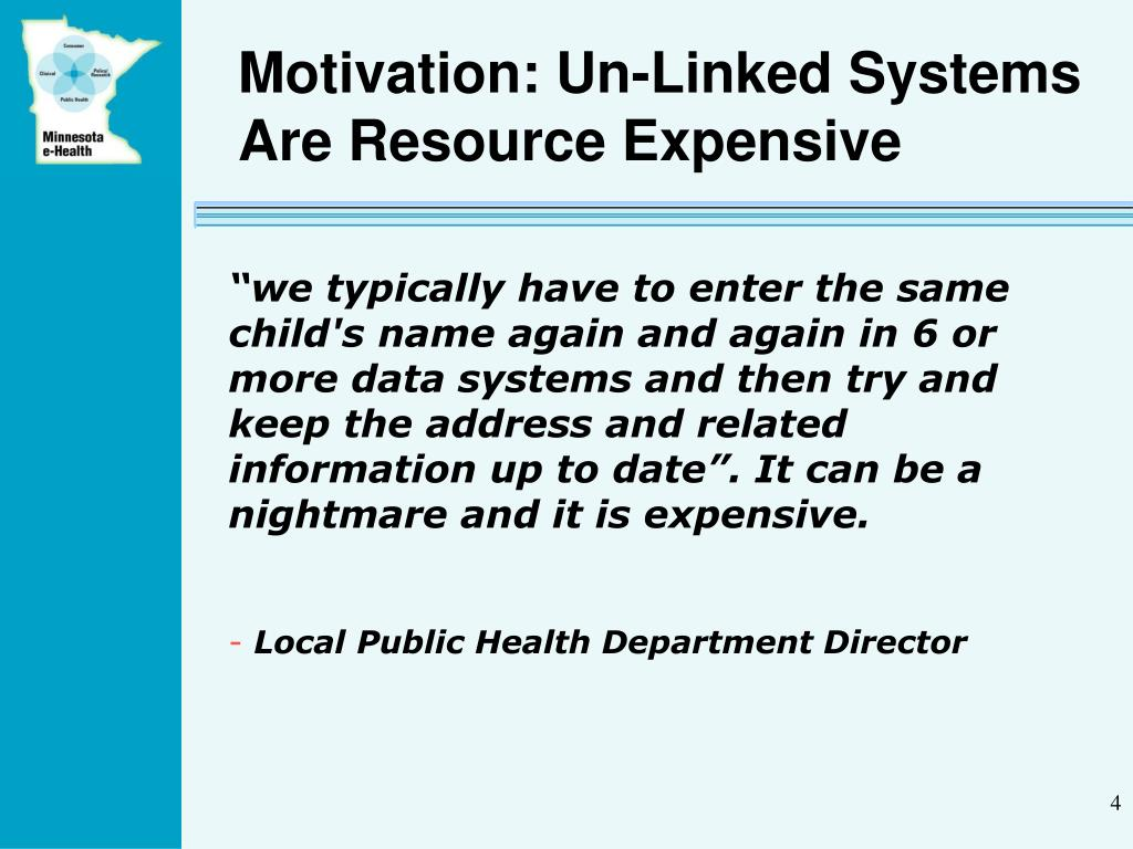 Motivation: Un-Linked Systems Are Resource Expensive