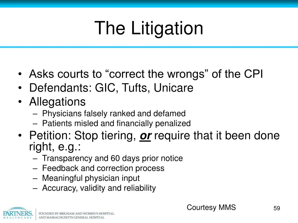 The Litigation