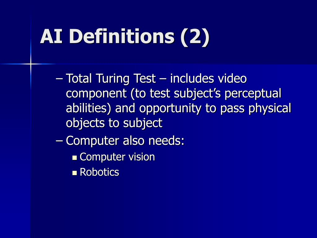 AI Definitions (2)