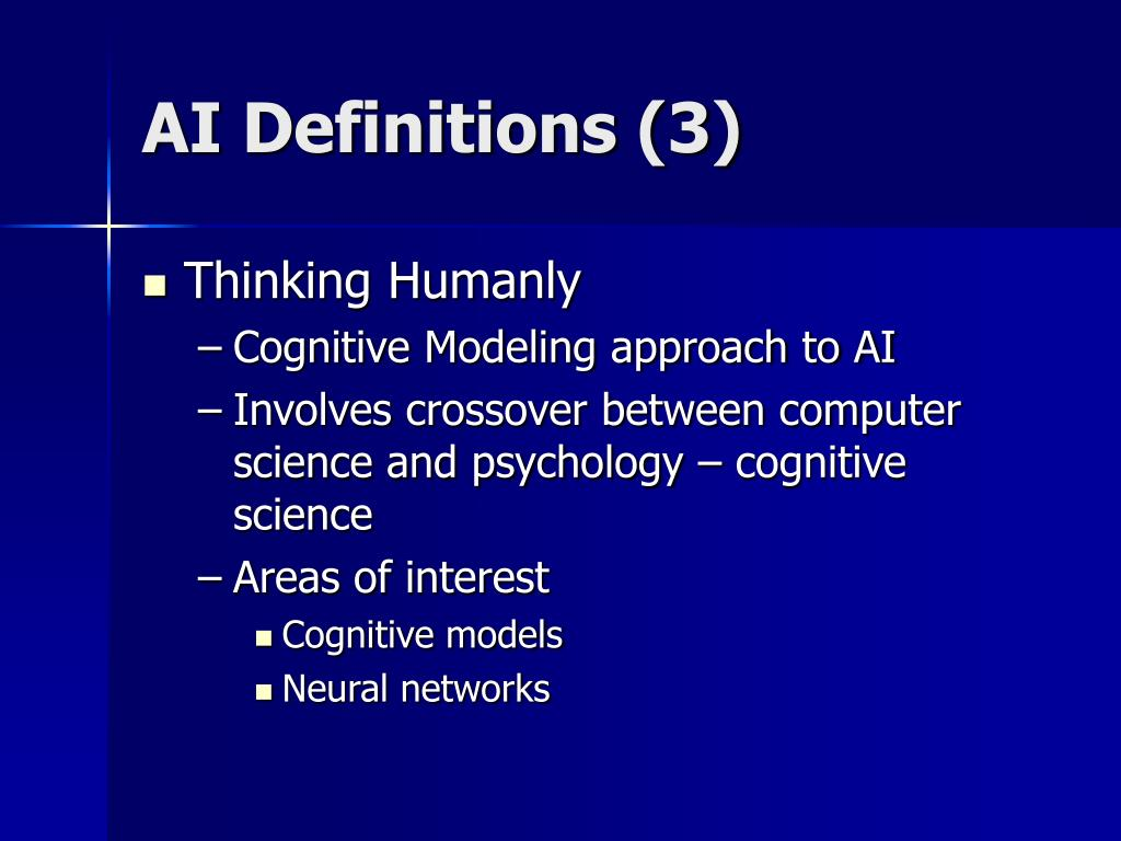 AI Definitions (3)