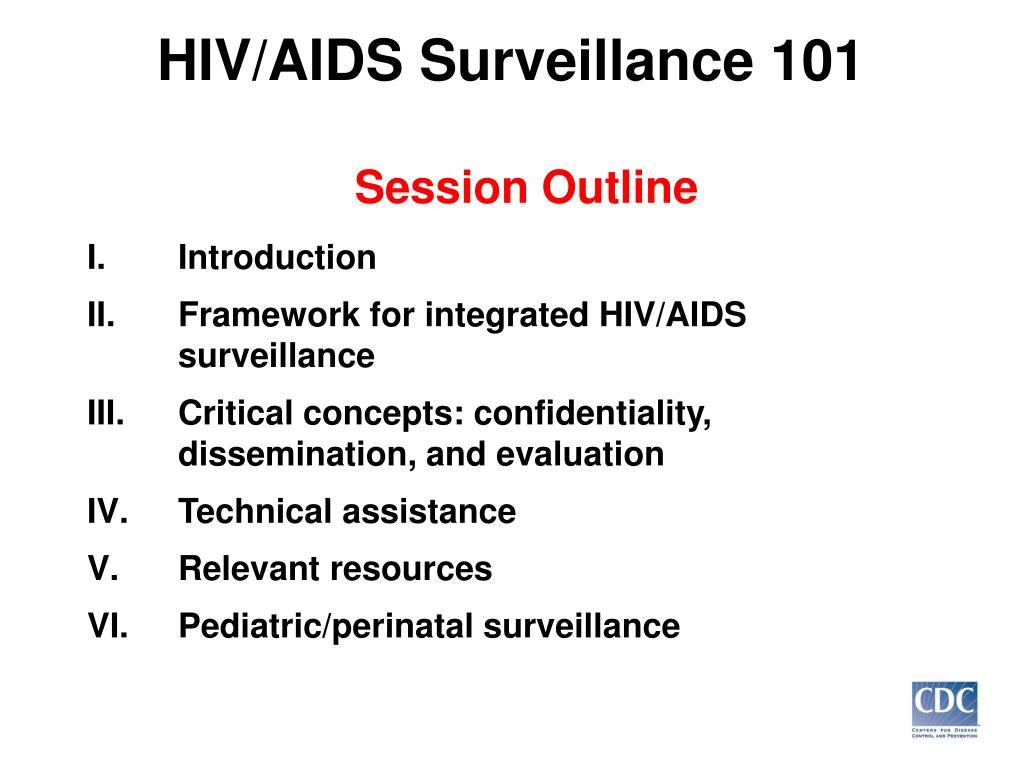 HIV/AIDS Surveillance 101