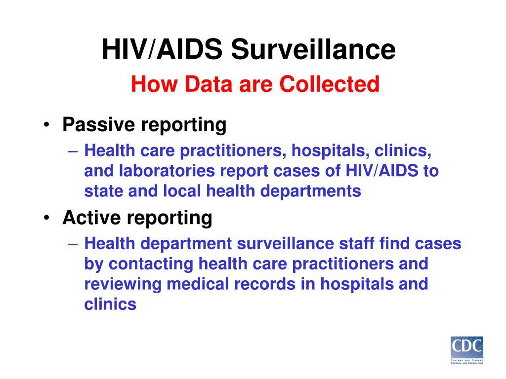 HIV/AIDS Surveillance
