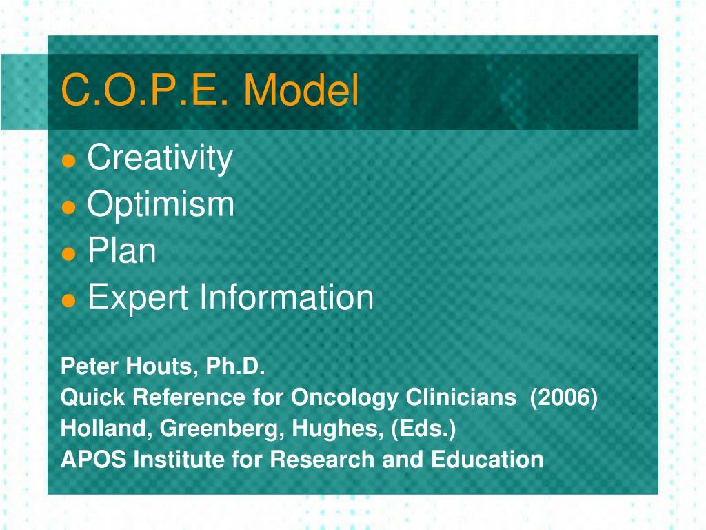 C.O.P.E. Model