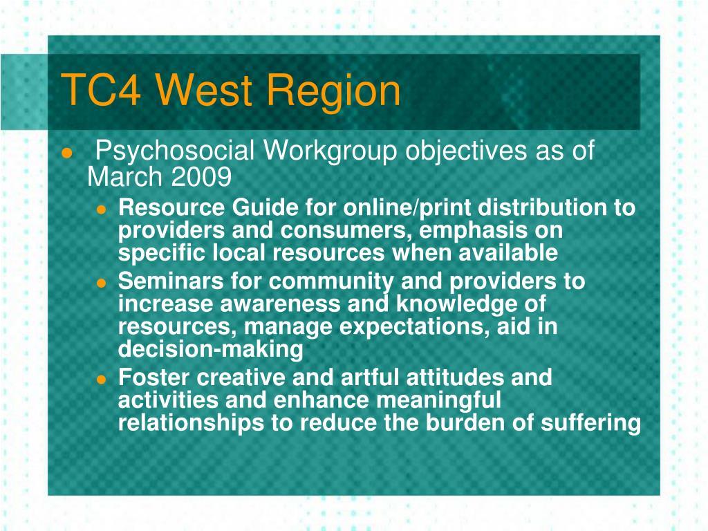 TC4 West Region