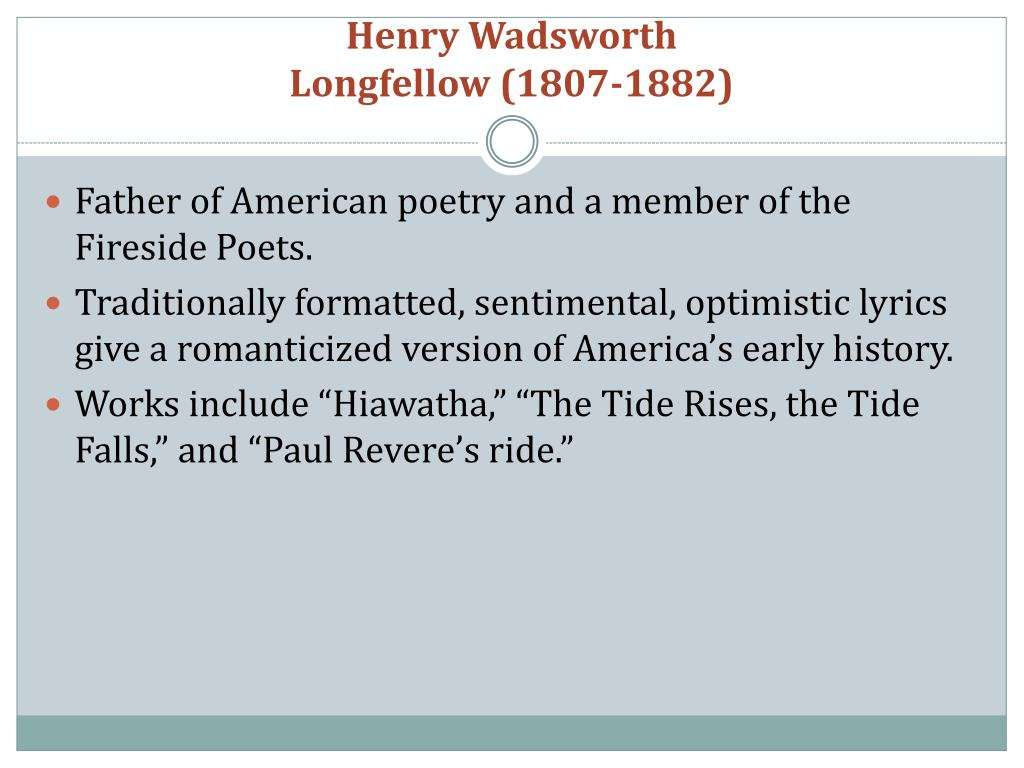 Henry Wadsworth