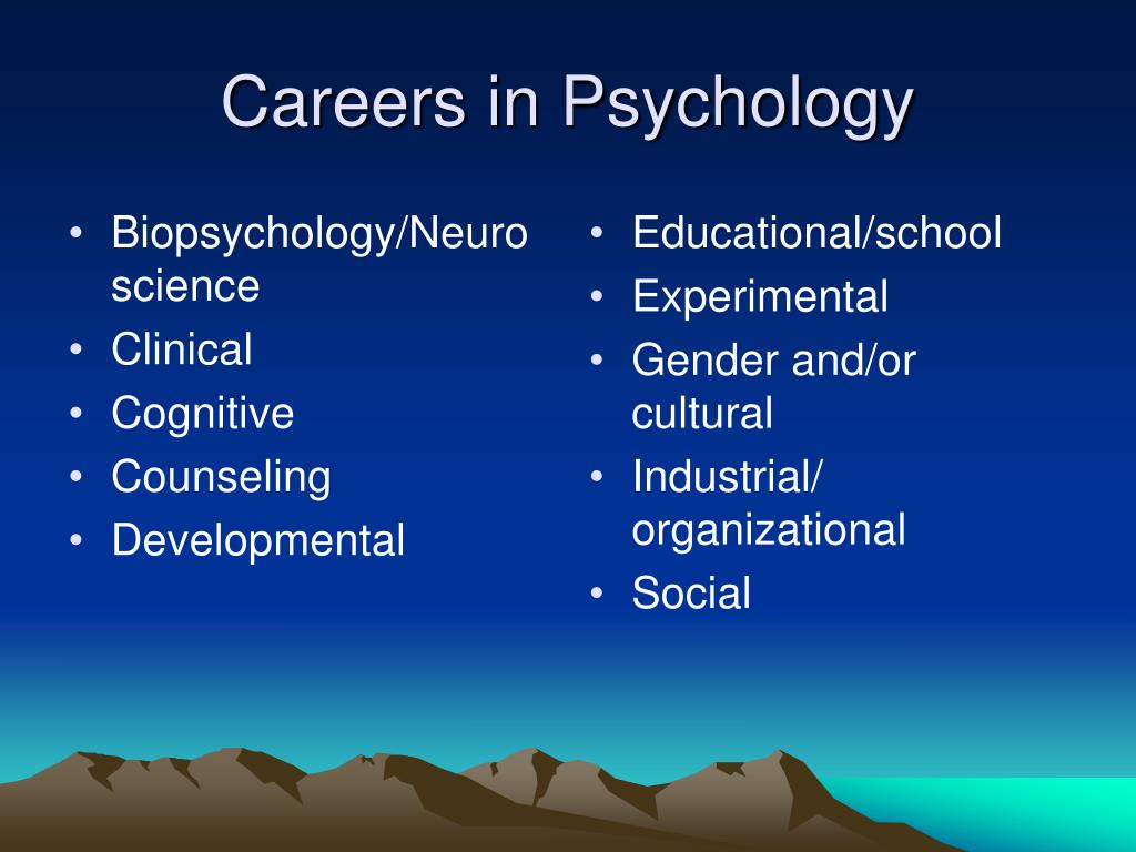 Biopsychology/Neuroscience