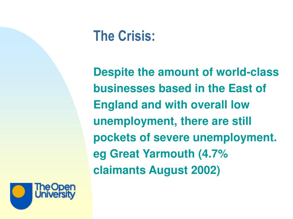 The Crisis: