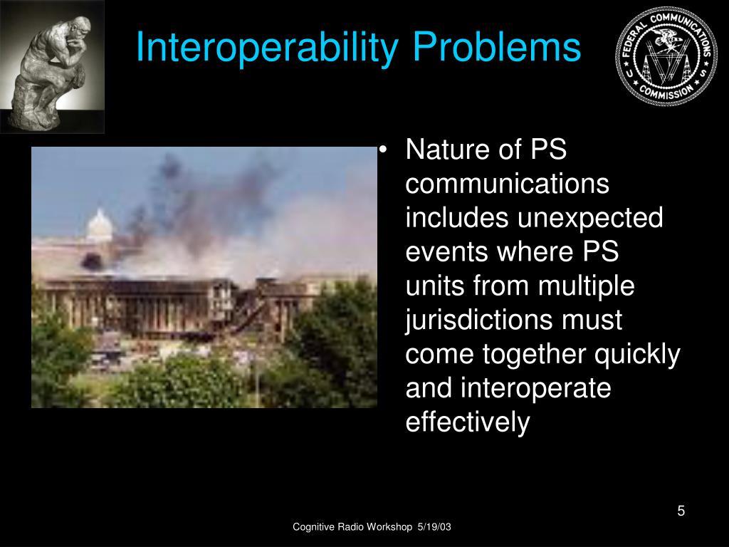 Interoperability Problems