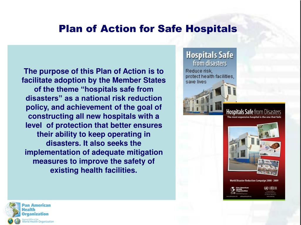 Plan of Action for Safe Hospitals
