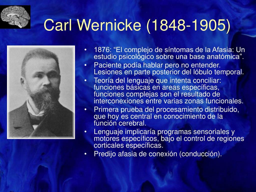 Carl Wernicke (1848-1905)