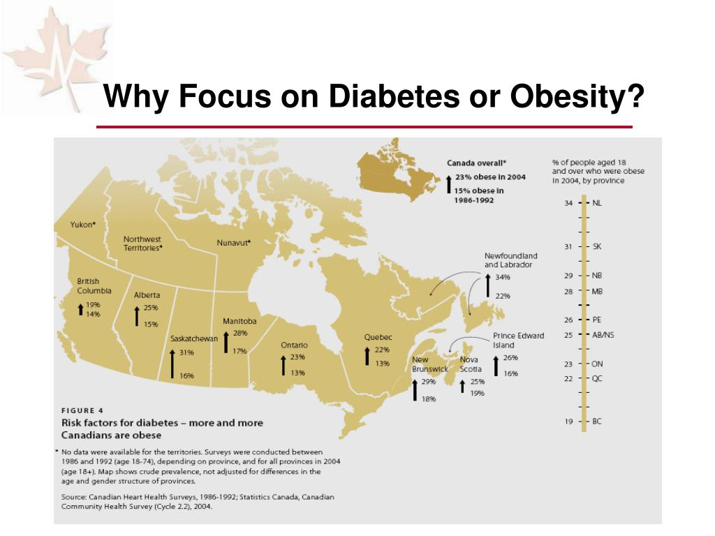 Why Focus on Diabetes or Obesity?