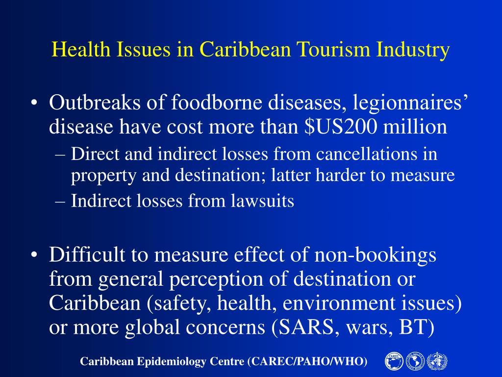 Health Issues in Caribbean Tourism Industry