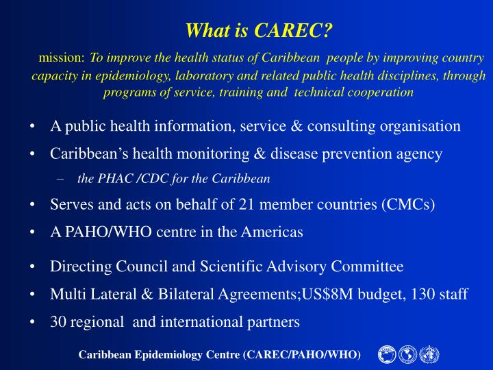 What is CAREC?