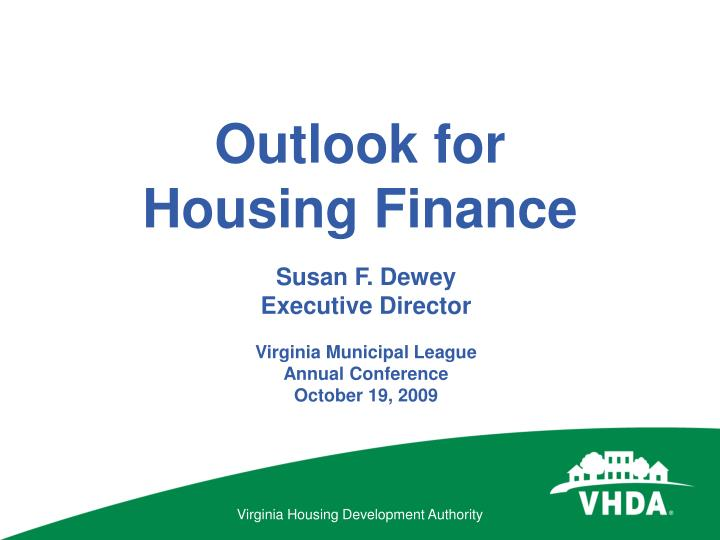 Outlook for housing finance l.jpg
