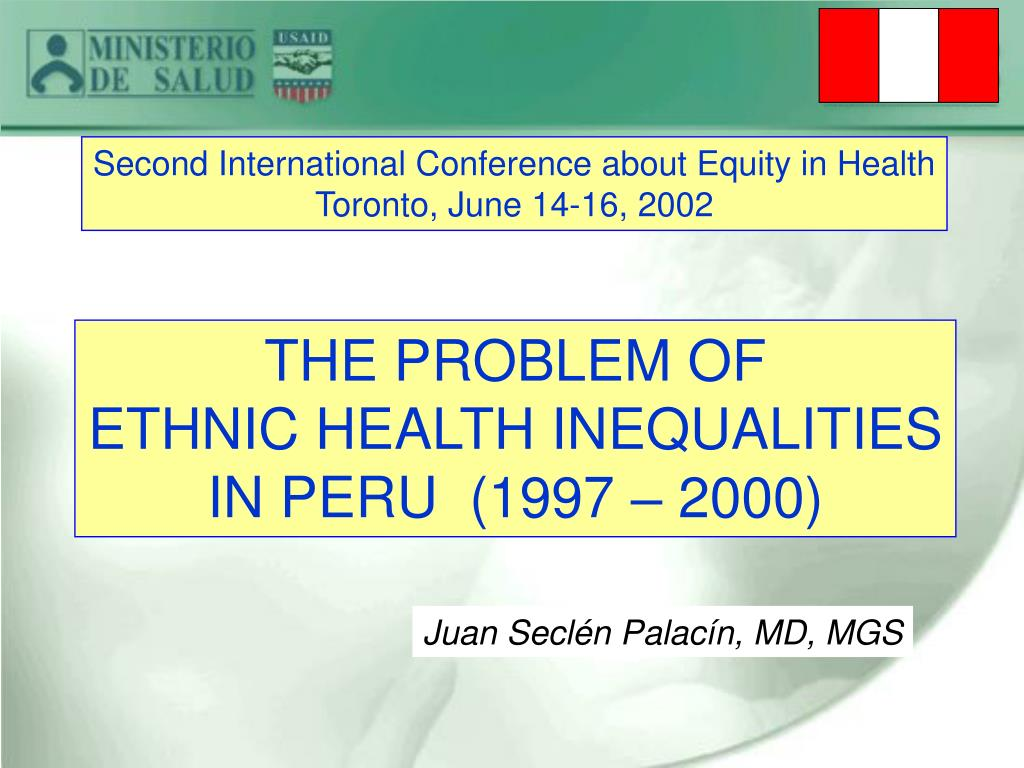 Second International Conference about Equity in Health