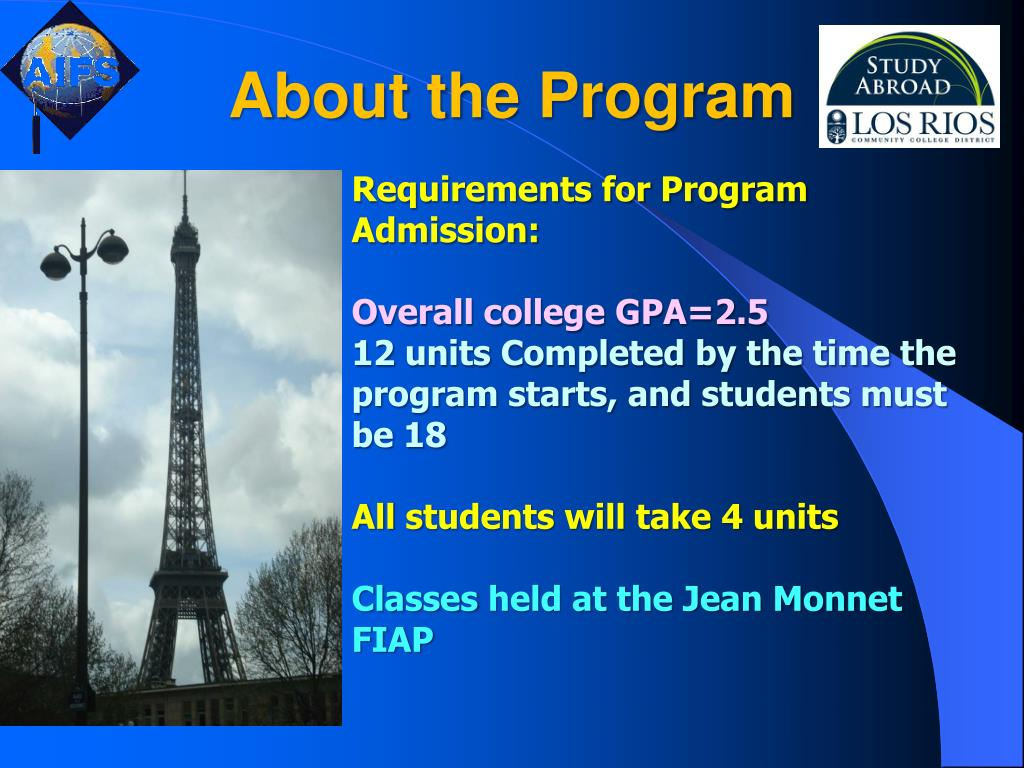 About the Program