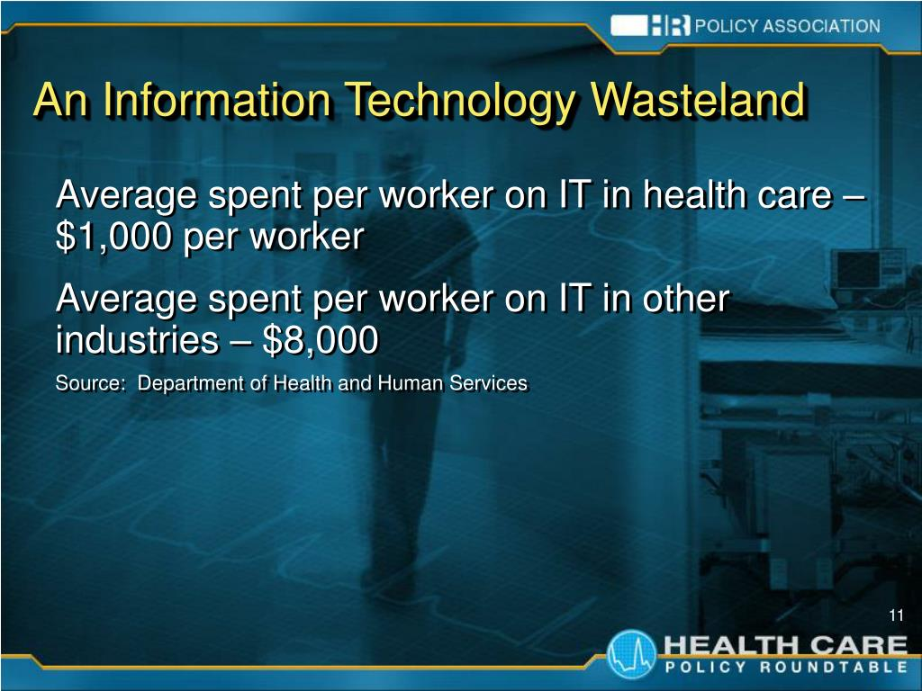 An Information Technology Wasteland