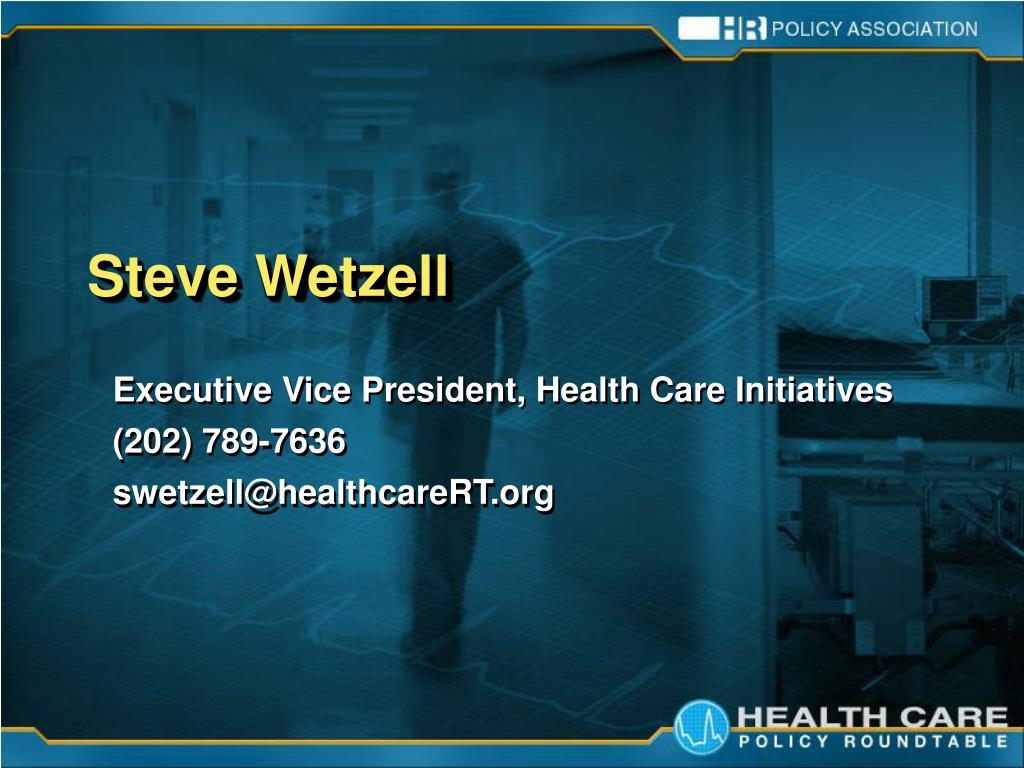 Steve Wetzell