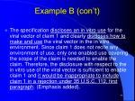 example b con t