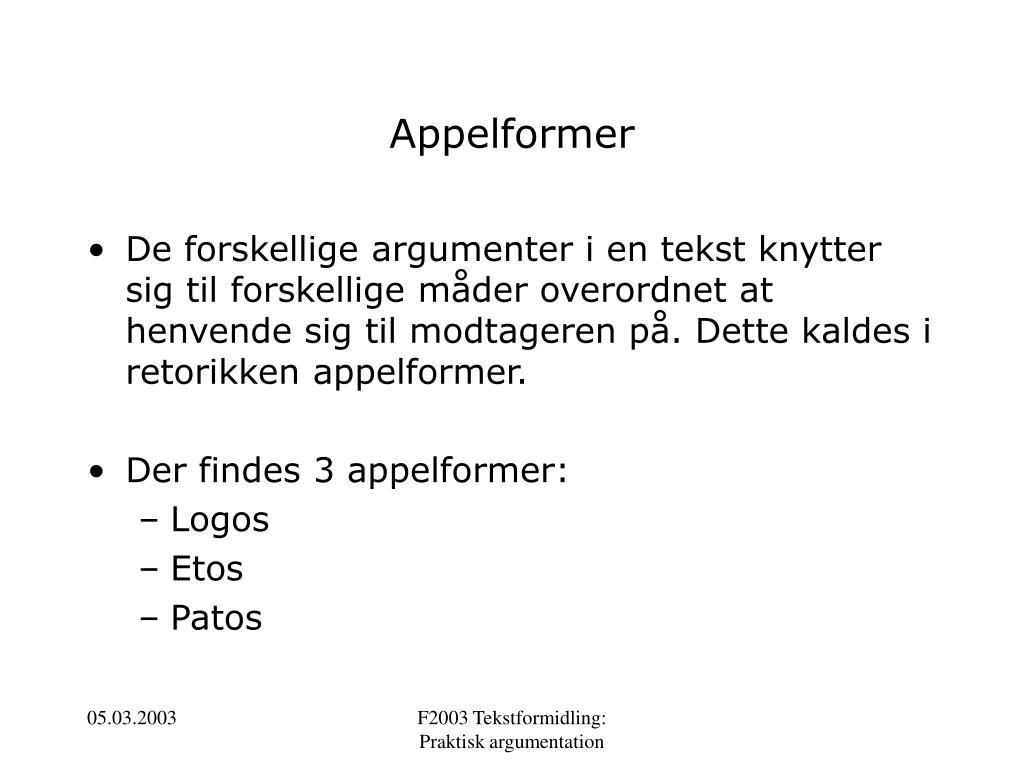 Appelformer