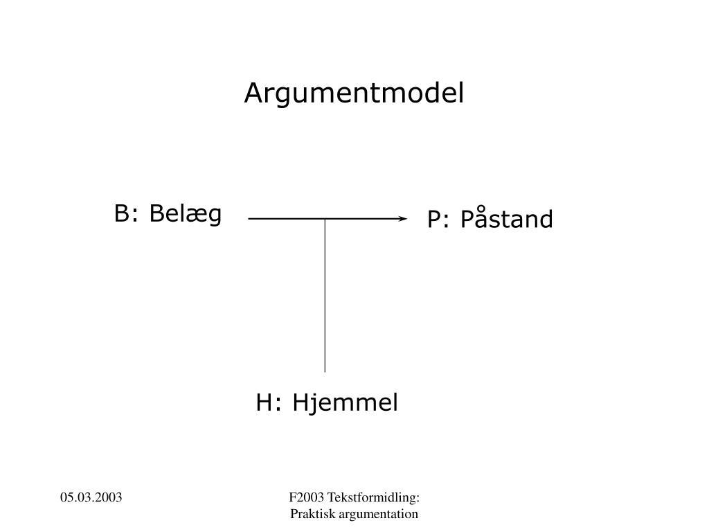 Argumentmodel