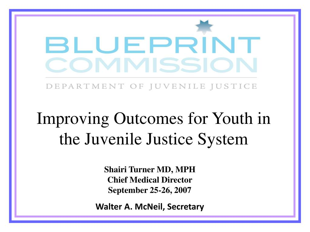 Improving Outcomes for Youth in the Juvenile Justice System