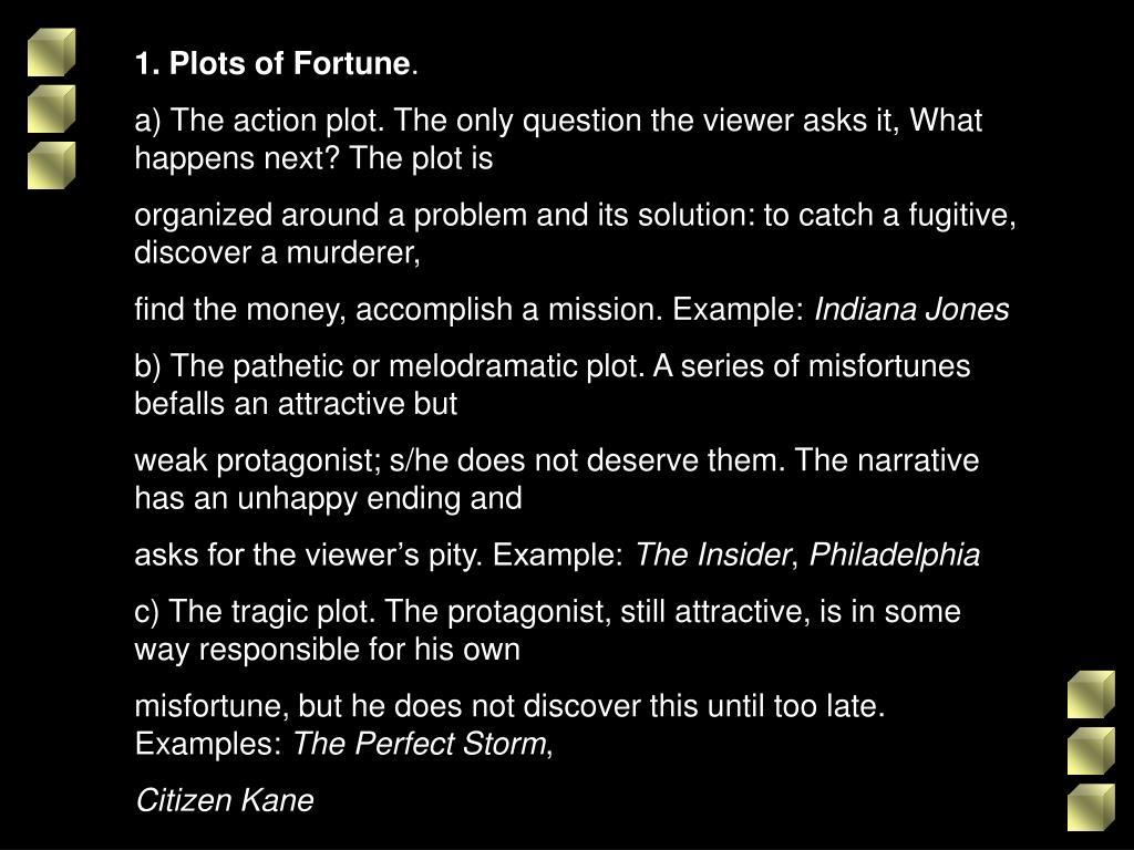 1. Plots of Fortune