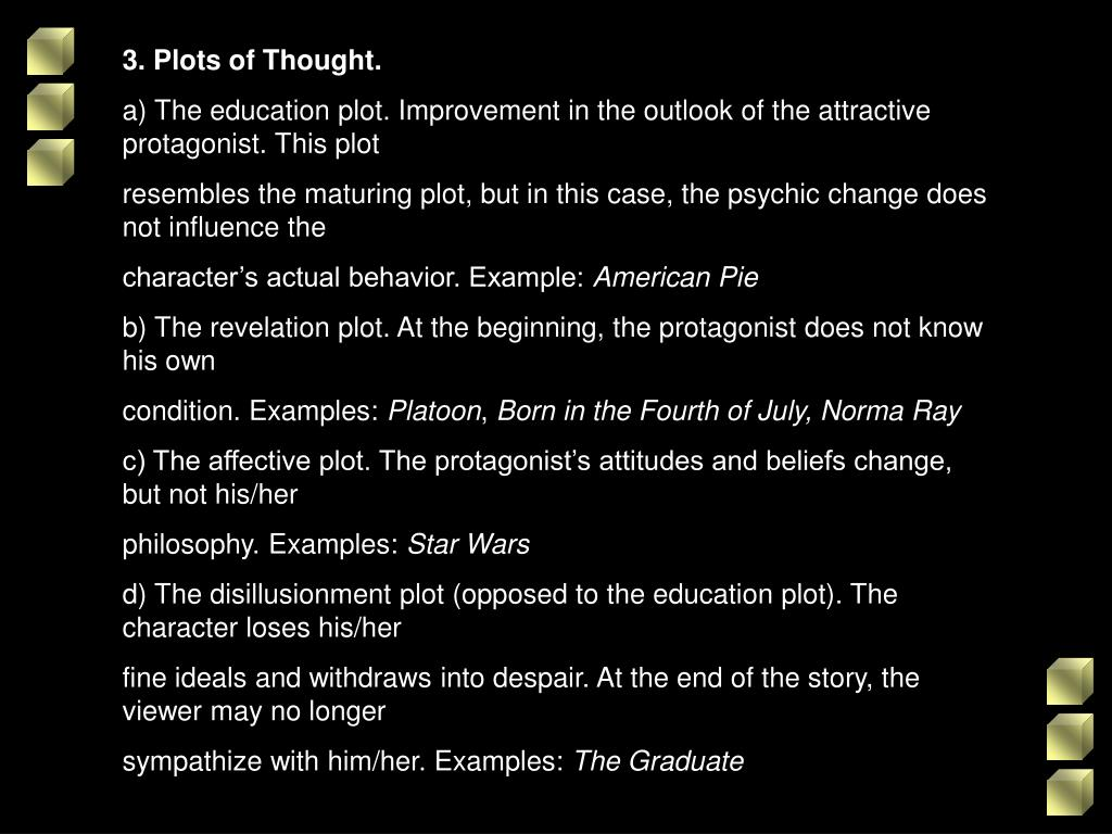 3. Plots of Thought.