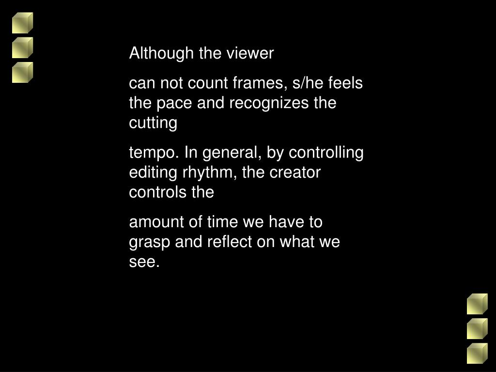 Although the viewer