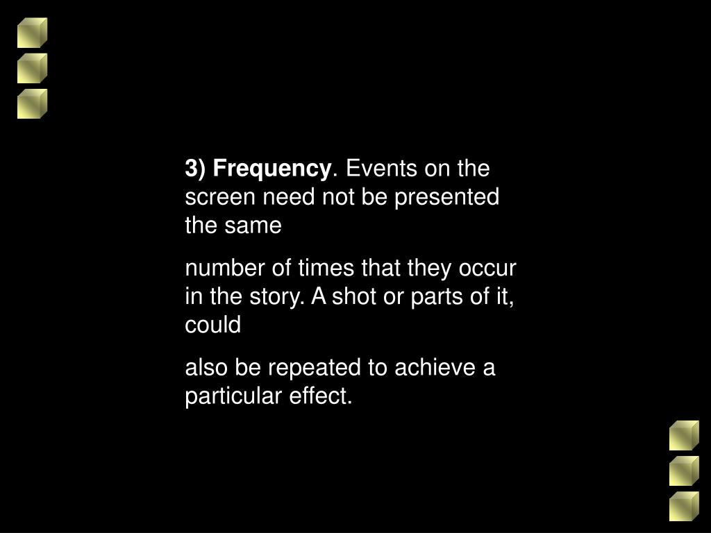 3) Frequency