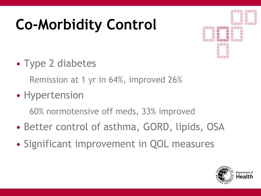 Co-Morbidity Control
