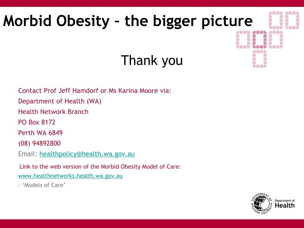 Morbid Obesity – the bigger picture