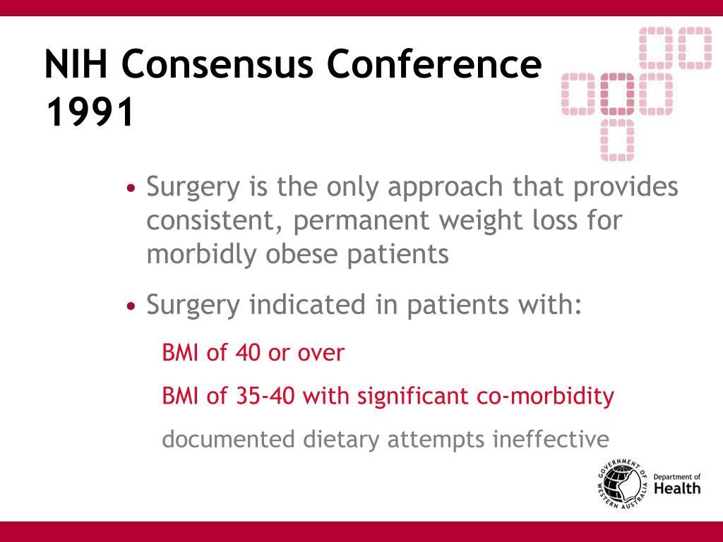 NIH Consensus Conference