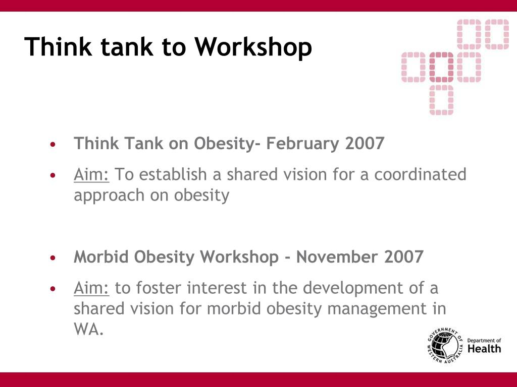Think tank to Workshop