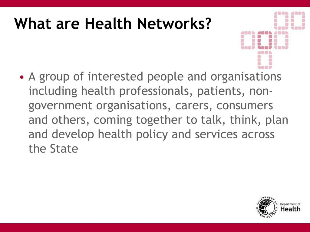 What are Health Networks?