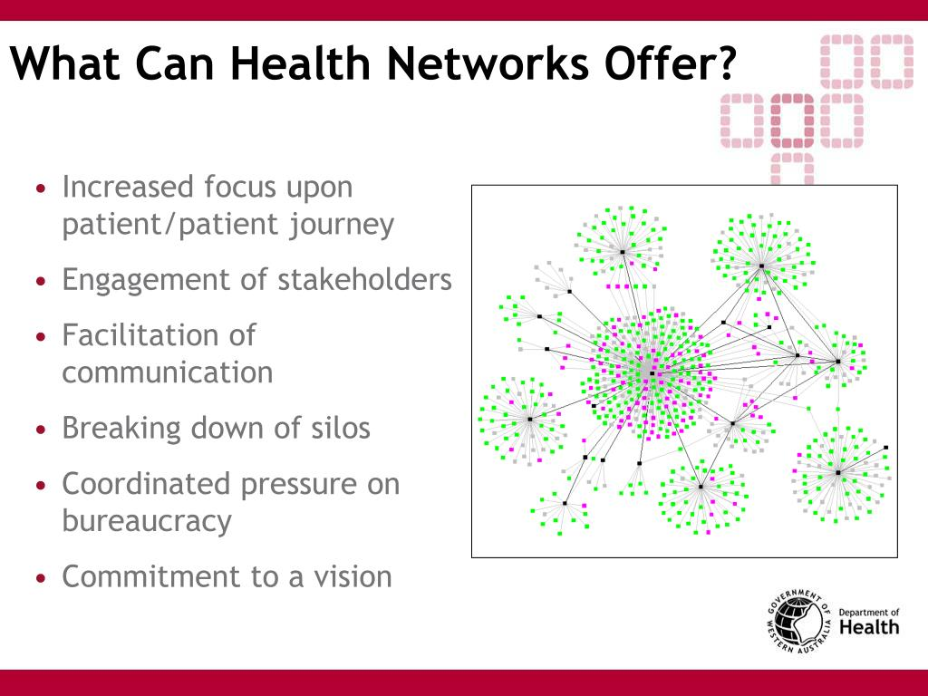What Can Health Networks Offer?