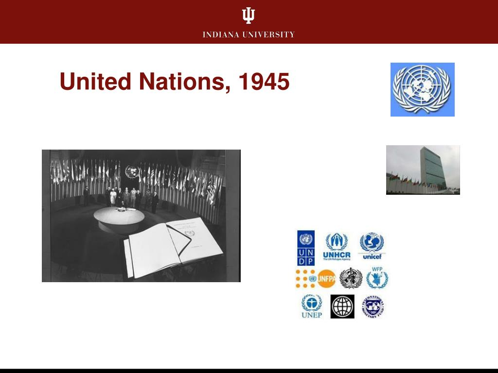 United Nations, 1945