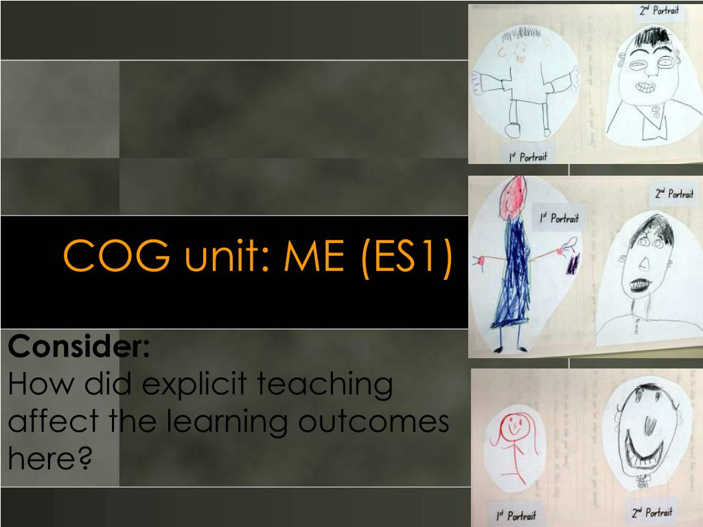 COG unit: ME (ES1)