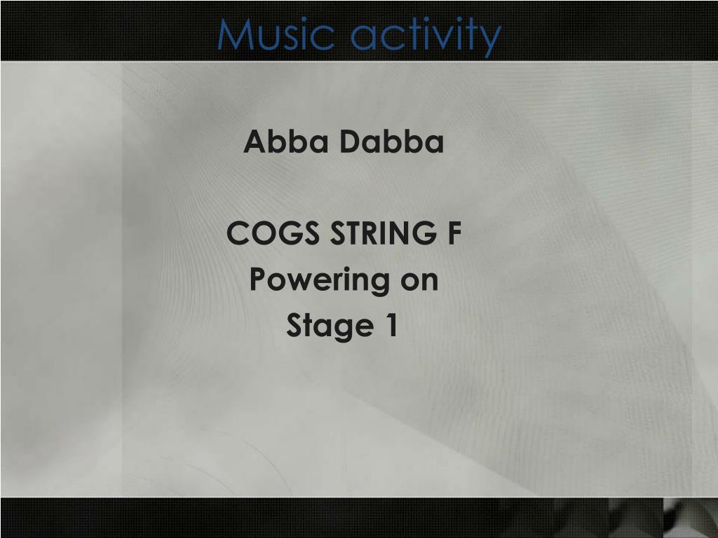 Music activity